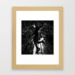 BASKETBALL SLAM DUNK!! Framed Art Print