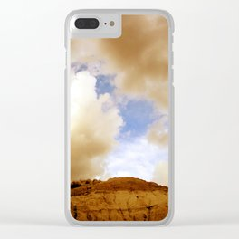 Badlands Sky Clear iPhone Case