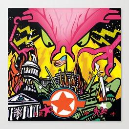 INVASION Canvas Print