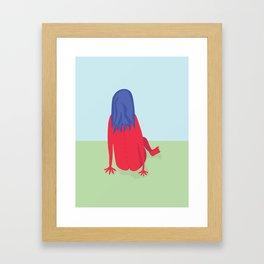 Day in the Park Framed Art Print