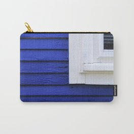 White window frame, blue clapboards Carry-All Pouch