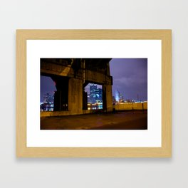 Down Below Framed Art Print
