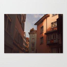 Zurich Alley VI Canvas Print