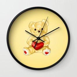 Teddy Bear Hypnotist Wall Clock