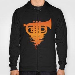 Baritone Euphonium Band Musician Bandsman Music Saxo Gift design Hoody