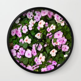 Impatient for Spring Wall Clock