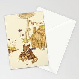 Harvey the Greedy Chipmunk Stationery Cards