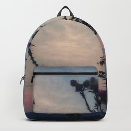 Hazy Thistles Backpack