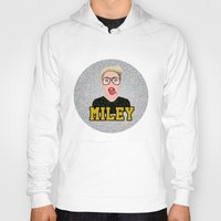 miley Hoodies featuring Miley Cyrus by Jessica Guetta