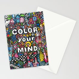 color your mind by Astorg Audrey Stationery Cards
