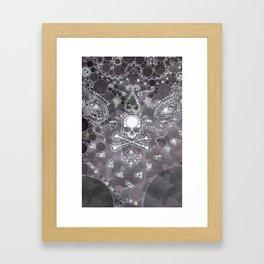"""Skull - from """"Further back"""" series Framed Art Print"""