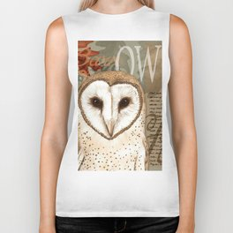 The Barn Owl Journal Biker Tank