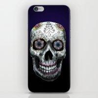 calavera iPhone & iPod Skins featuring Calavera by Joe Fern