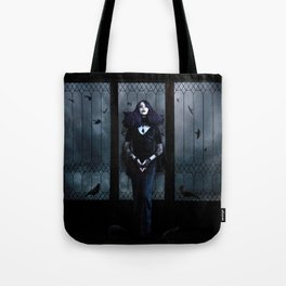 Lady of Crows Tote Bag