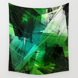Jungle - Geometric Abstract Art Wall Tapestry