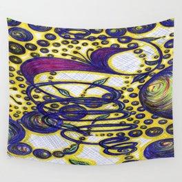 Burst of Life 2 Wall Tapestry