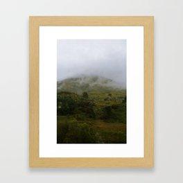 From a Moving Train (Nublar) Framed Art Print