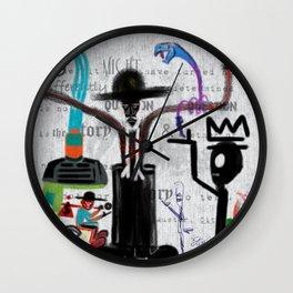 CITY OF GLASS: AMERICAN KABUKI Wall Clock