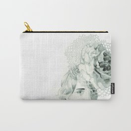 Emma in Bloom Carry-All Pouch