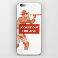 Looking out for love iPhone & iPod Skin