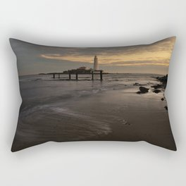 St Marys Lighthouse Rectangular Pillow