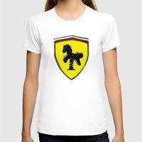 ferrari T-shirts featuring Ferrari cute by le.duc