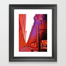 Orange ya glad... Framed Art Print
