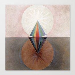 Hilma af Klint Group IX/SUW The Swan No. 12 Canvas Print