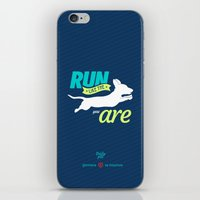 dota iPhone & iPod Skins featuring Run Like Dogs by DotaZone Store