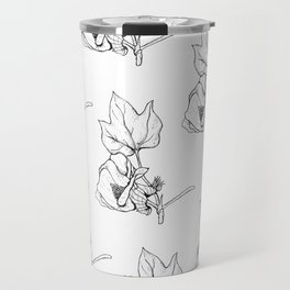 Cotton Bud Travel Mug