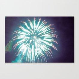 Thai Fireworks Canvas Print