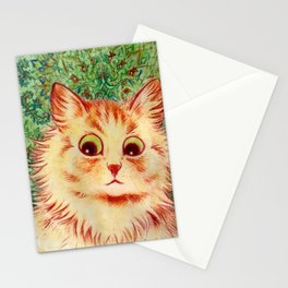 Louis Wain Kaleidoscope Cat  Stationery Cards