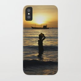 a drop in the ocean iPhone Case