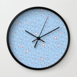 Confetti Shower Wall Clock