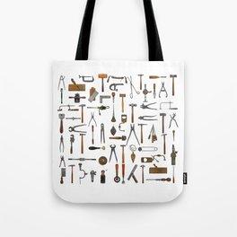 vintage tools collage Tote Bag