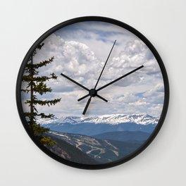 Colorado Ski Slopes In The Summer Wall Clock