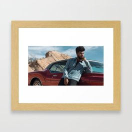 Khalid tour 2019 axis1 Framed Art Print