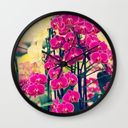 Orchid #2 Wall Clock