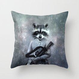 Gangster Throw Pillow