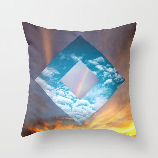 Sky Portal Throw Pillow