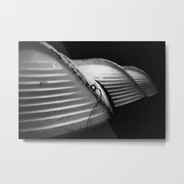Row Boats 1 Metal Print