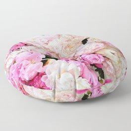 summer peonies Floor Pillow