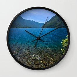 Blue Waters Wall Clock