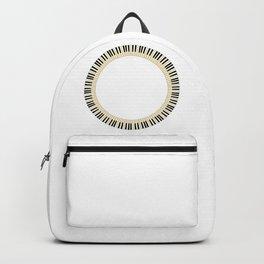 Pianom Keys Circle Backpack
