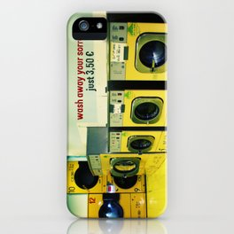 wash away your sorrow... iPhone Case