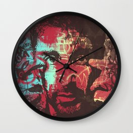 AL PACINO URBAN ART Wall Clock
