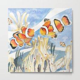 Clownfish Metal Print
