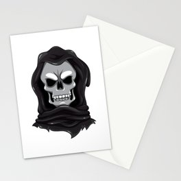 I Love You To Death Funny Grim Reaper Valentine's Stationery Cards