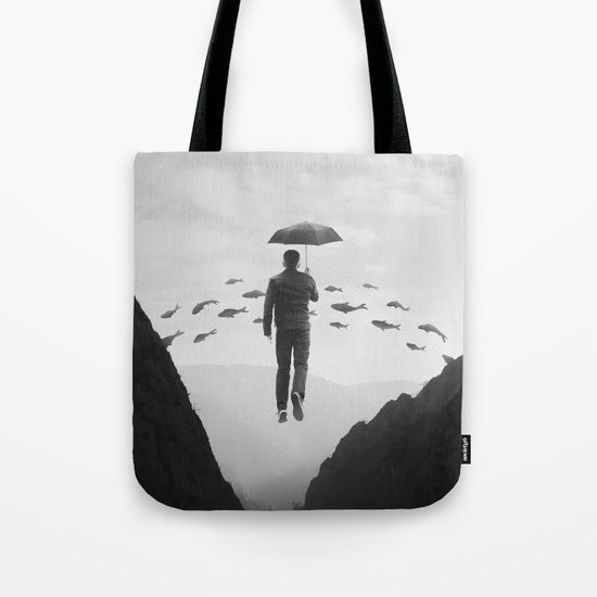 Journey to the Unknown Tote Bag