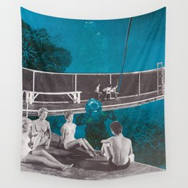 No Diving Wall Tapestry
